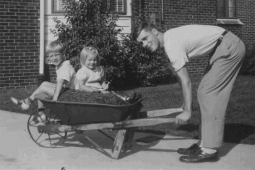 How many wheelbarrow rides did you have as a child? Chances are it was but a few but they rest large in memory. There is also a good chance you were tipped into a compost heap or brush pile at the end of the trip. Hope you haven't forgotten how good it is to heap and pile in your garden!